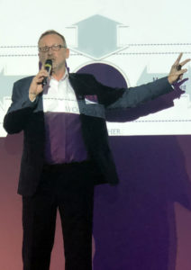 Human resources presentation: Gunther Wolf as keynote speaker for human resources topics